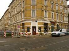 Bildinhalt: Café Schwarz in der Georg-Schwarz-Straße 56; Foto: Lindenauer Stadtteilverein