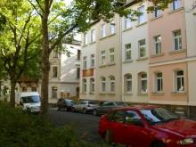 Bildinhalt: Die Pension Leipzig Georgplatz entstand in einem ehemaligen Mietshaus.