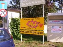 Bildinhalt: Die Kulturwerkstatt KAOS ist ein Projekt der Kindervereinigung Leipzig