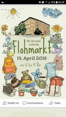Bildinhalt: Flohmarkt an der 46. Grundschule