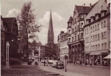 Bildinhalt: Ansichtskarte vom Lindenauer Markt