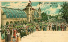 Bildinhalt: Der Palmengarten 1899