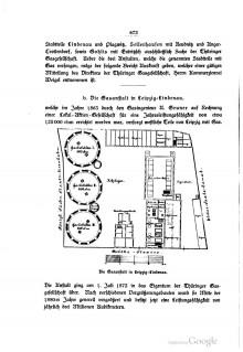 Bildinhalt: Die Gasanstalt in Leipzig-Lindenau. In: Leipzig und seine Bauten. Leipzig 1892. S. 672