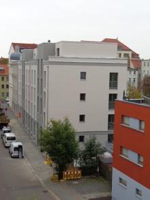 Bildinhalt: Neubau Roßmarktstraße 29-31 am 28. September 2018