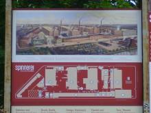 Bildinhalt: 1884-1909 25 Jahre Leipziger Baumwollspinnerei Leipzig-Lindenau