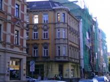 Bildinhalt: Goetzstraße 2 im Mai 2018