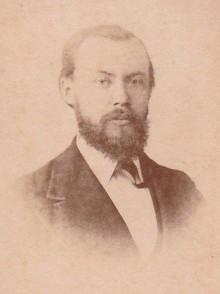 Bildinhalt: Dr. Berthold Finkelstein, Hausbesitzer und Chemie-Fabrikant (geb. 4. Jan. 1844, gest. 26. Feb. 1931). Foto: Familienarchiv Finkelstein