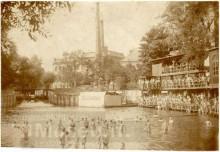 Bildinhalt: Fuchssches Freibad in der Luppenstraße 18 in Lindenau. Quelle: Stadtgeschichtliches Museum Leipzig, GOS-Nr. s0016711. CC BY-NC-SA 3.0 DE