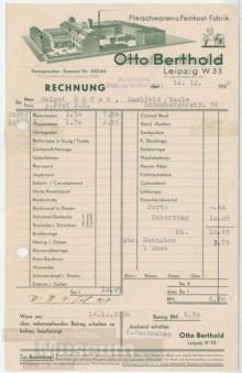 Bildinhalt: Fleischwaren- und Feinkost-Fabrik Otto Berthold, Leipzig W 33, Angerstraße 20-22. Quelle: SGML, GOS-Nr. z0055505, CC BY-NC-SA 3.0 DE