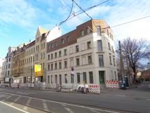 Bildinhalt: Apostelstraße 24 im März 2019 mit Aufstockung