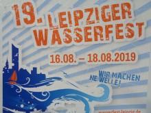 Bildinhalt: 19. Leipziger Wasserfest vom 16. bis 18. August 2019