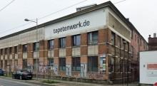 Bildinhalt: Tapetenwerk in Lindenau, Foto: wikipedia, Tnemtsoni - Eigenes Werk, CC BY-SA 3.0