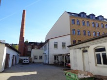 Bildinhalt: Im Hofgebäude der Demmeringstraße 63 arbeitete die Mineralwasserfabrik von Heinrich Börner, gegründet 1902.