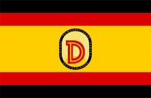 Bildinhalt: Flagge Liberal-Demokratische Partei Deutschlands (LDP, später LDPD)