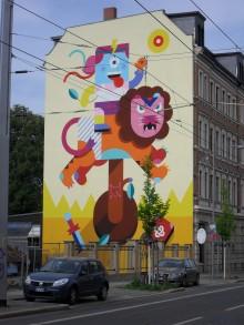 Bildinhalt: Lützner Straße 100 im Jahre 2014