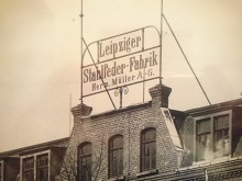 Bildinhalt: Leipziger Stahlfederfabrik Hermann Müller, Lützner Straße 124