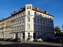Bildinhalt: Helmholtzstraße 1, Ecke Endersstraße