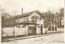 Bildinhalt: Restaurant Bürgergarten, um 1910. Quelle: Archiv Gerd Horn