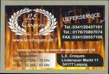 Bildinhalt: L.E. Croques, Lindenauer Markt 11, Werbung von 2015, Quelle: Archiv Gerd Horn
