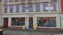 Bildinhalt: Lindenauer Markt 5 mit Ladengeschäft An- und Verkauf, Foto: Archiv Gerd Horn