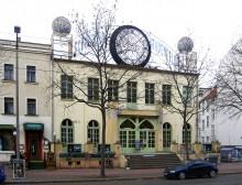 Bildinhalt: Schaubühne Lindenfels. Foto: Lumu, wikipedia, CC BY-SA 3.0
