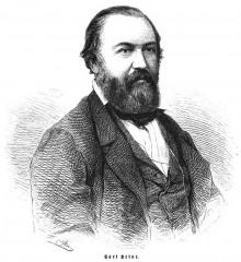 Bildinhalt: Carl Heine, Bildnis aus der Zeitschrift Die Gartenlaube, 1864, Heft 44
