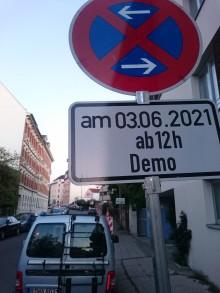 Bildinhalt: Am Donnerstagnachmittag ist hier bis 18 Uhr geschützter Platz zum Radfahren