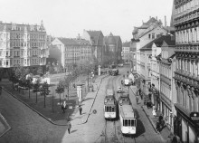 Bildinhalt: Lindenauer Markt, Foto Alfons Trapp, Quelle: Stadtarchiv Leipzig, STADTARCHIV.DIGITAL, Den Bildern auf der Spur.